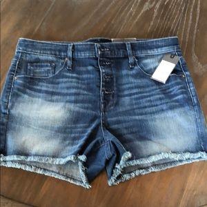 Mossimo Highrise Denim Shorts 12 NWT